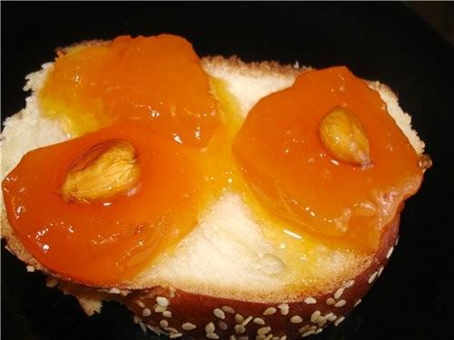 МАНТЫ ЗАКУСКА ,, КАСКАД ,, СУББОТНЯЯ ХАЛА И еще одна И вот еще кусочек с абрикосовым вареньем МАЛОС... - 5