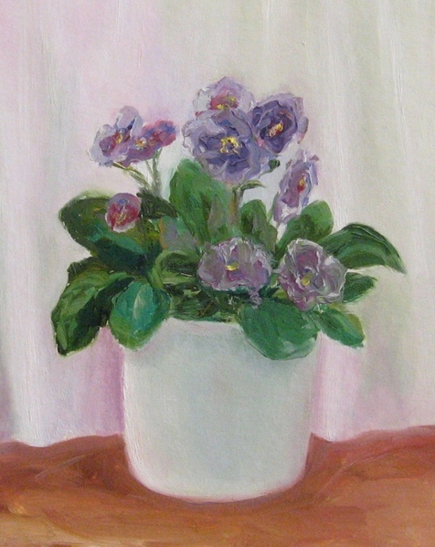 Мои новые картины Фиалка масло 20х30 см Рисовала с натуры Пионы Масло, 35х45 см Этюд с натуры в сту...