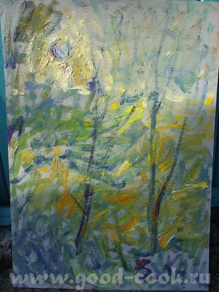 Это работы моего препода, директора школы, заслуженного художника России - Каменева В - 2