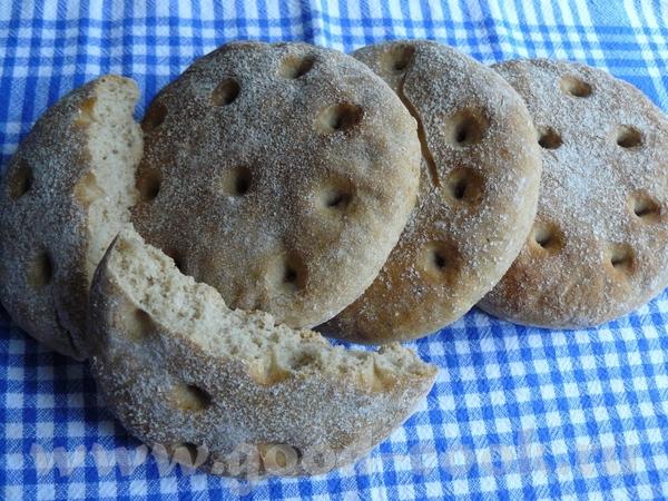 Вкусные лепёшки-хлебцы из австрийской кухни, в разных книгах немного по-разному описано