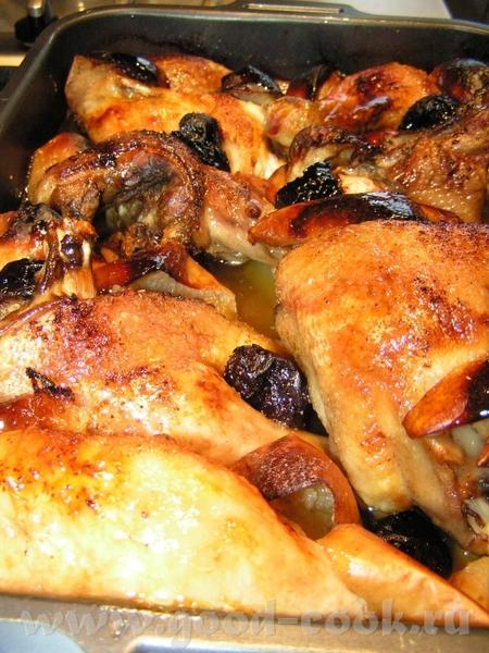 Курица с уткой Утка 2,5кг Курица 2,5кг Яблоко 3-4шт чернослив ~10шт соль,свежемолотый перец сухой ч...