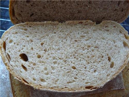 В последнее время нахожу и стараюсь печь хлеб с опарой и закваской