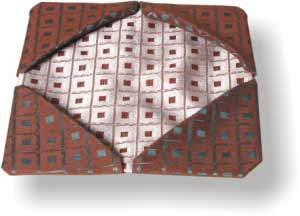 Звезда веером Корзиночка для хлеба Куверт для приборов Калла Колонна - 2