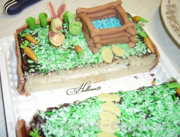 Торт для Оли - 2