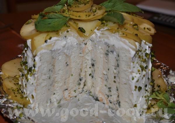 """Торт """"Яблочный каприз"""" Рецепт взят из журнала """"Вкус сезона, осень"""" 2008 год - 3"""