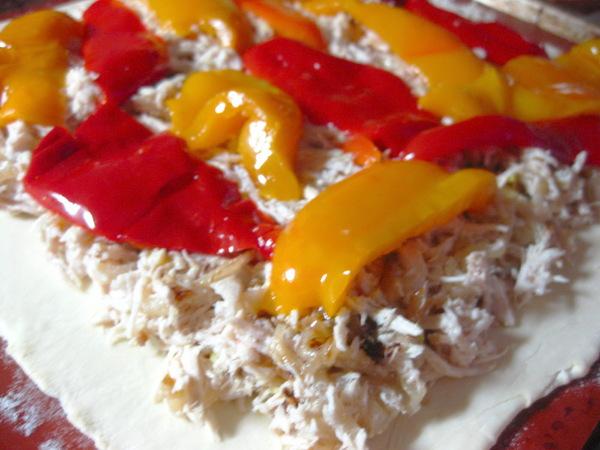 Этот пирог получается очень ароматный и сочный за счет сладкого перца - 3