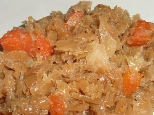 Наш вчерашний ужин - куриный бульон тушеная капуста с морковкой (худеем, девочки, худеем - 2