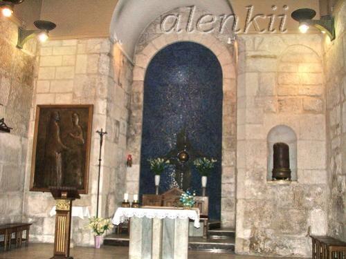 Коптская часовня сзади Святого Гроба Господня - 8