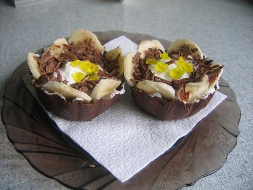 корзиночки навеяны рецептом шоколадной коробочки от Белочки тут начинка-мягкий творог+вареная сгуще... - 2