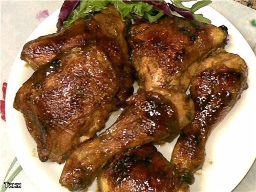 Мясо курицы с овощами в пикантном соусе Румяная курочка Курочка с картошкой Куриные грудка и печень... - 8