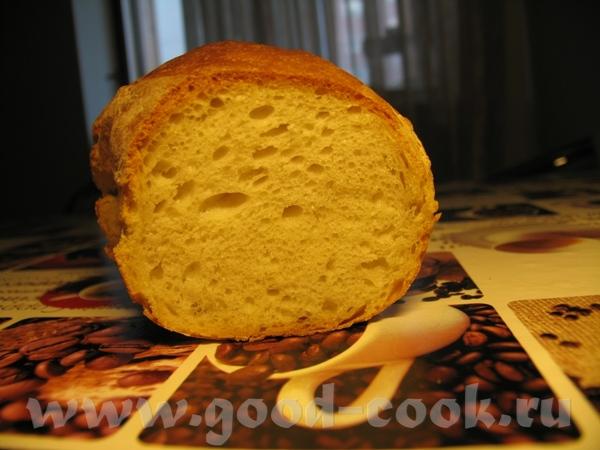 вот что у меня получилось с американским вчера: хлеб вышел пышний и вкусный, но вот трещина меня см...