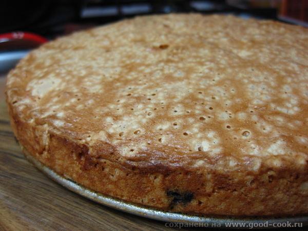 Пирог с черникой - 2