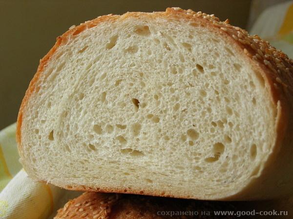 хлеб из семолины2