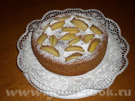 Яблочный пирог «Старый Брюгге» (перевод с немецкого и фото – мои) Масло- 200г Сахар – 250г Яйца – 4...