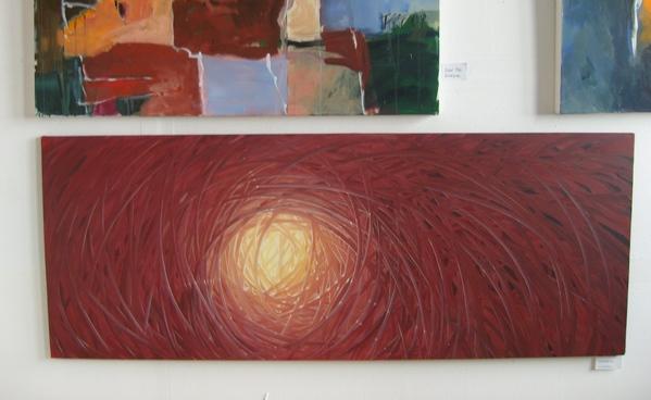 2 мои картины нижние висели рядом с Боб Россовскими - 5