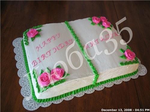 Предстоит снова делать раскрытую книгу,подскажите,как сделать обложку. всего торта положите. мк сотни в сети...