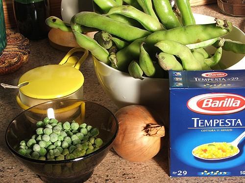 Кусксу (мальтийский весенний супчик) 400 г бобов (лучше свежих, можно из банки) я брала 300 г бобов... - 2