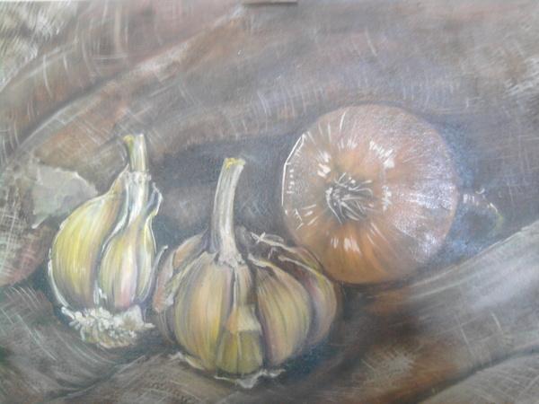 """Процесс рисования мною """"подлюка """" : Предыдущий красноватый вариант вытерла и покрыла сиеной натурал... - 2"""