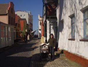 Это у нас в прошлые выходные (мелкое на первой фотке - мы с Леонкой):