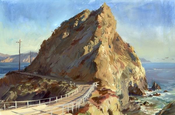 12 уроков акварельной живописи от английского художника Alwyn Crawshaw Диск 1 1 - 8