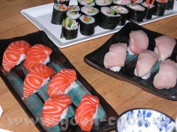 Рецептов японской кухни у меня много
