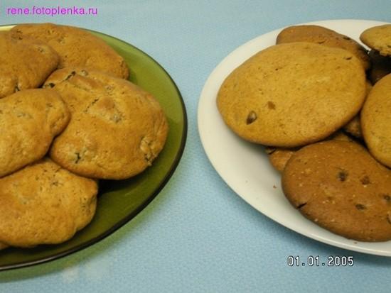 И еще пекла печенье