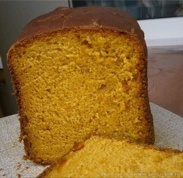 Тыквенный хлеб с сыром и луком