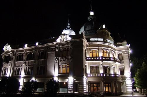 Девчата, хочу показать вам немного красивого ночного Тбилиси - 2