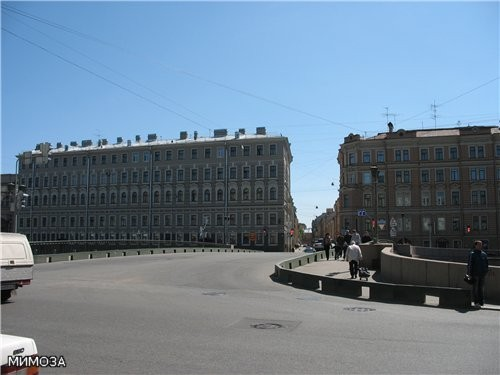 Лештуков мост напротив БДТ