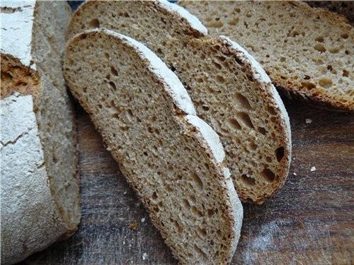 Я всё со своим Ржаным хлебом експериментирую, уже на вид мякиш получше