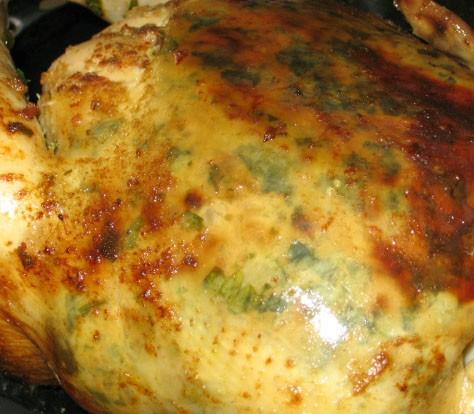 Рулеты из лаваша с разными начинками Жаренная курица с начинкой из петрушки - 5