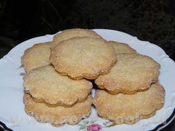 Напекла сегодня печенья, два сорта