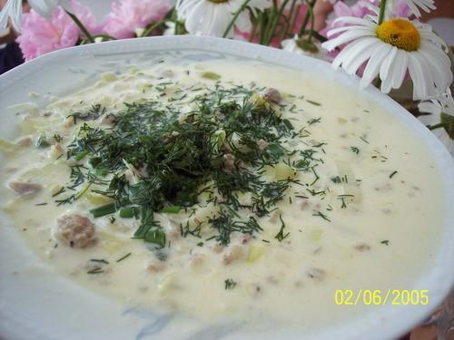 Вот сегоднешний наш обед, суп от Кёзесупе и вчера пекла торт Яичница, гости не пришли, придётся куш...