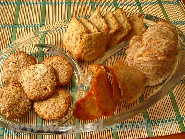 Начну, пожалуй, с того, что завалялся у меня миндаль… Миндальное печенье без муки Рецепт от Анастас...
