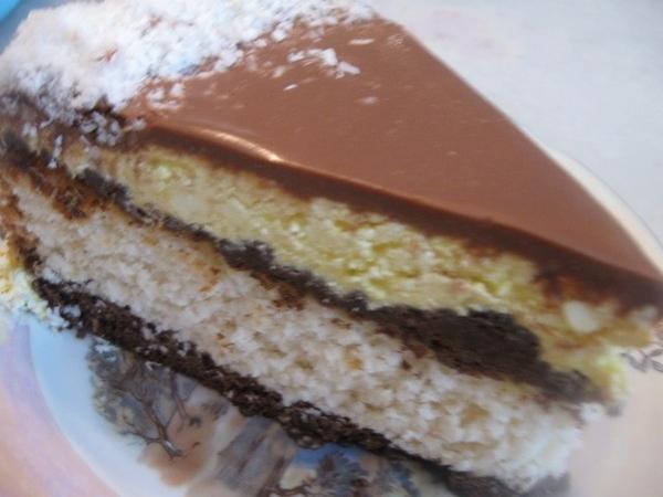 Нарезаем торт – он и на разрезе красивый - 4