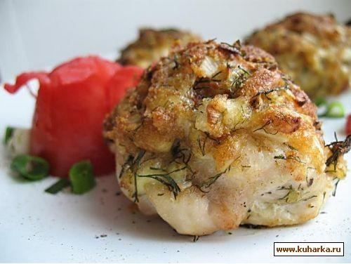 курица запеченная с сыром