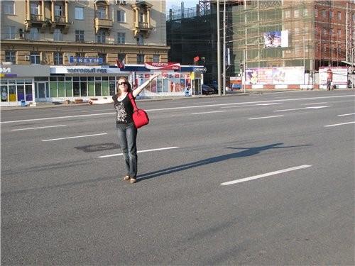 А мне удалось козой поноситься по пустому Садовому и милиционеры были совсем не против)))