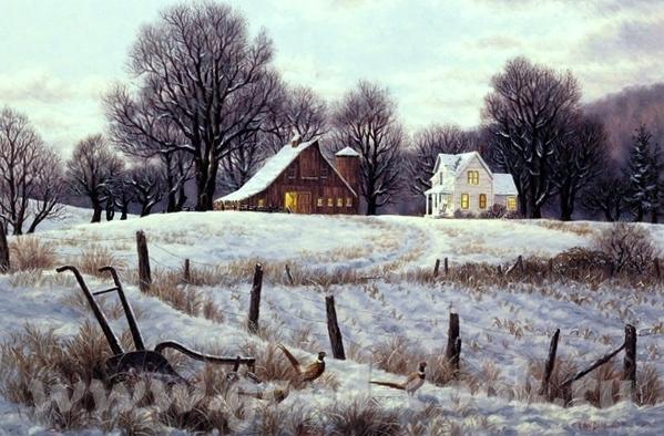 Очень xороший подарок дочкам вы сделали Это художник Джим Уоррен- Jim Warren ======================... - 5