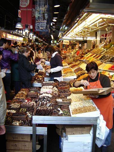 ГОРОДСКОЙ РЫНОК БОКЕРИЯ -Mercat de la Boqueria - В БАРСЕЛОНЕ Про этот рынок я была много наслышана - 3