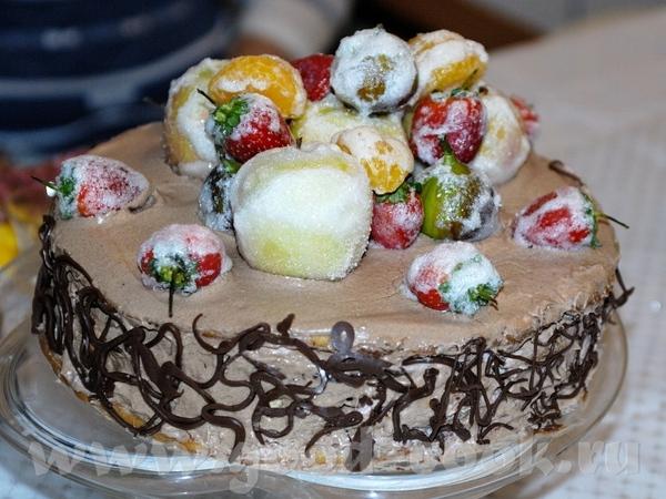 Хочу сказать большое спасибо Танечке-SANY, хоть она и почти не заходит сюда, за торт Татьяна