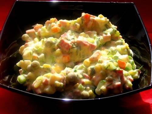 А сегодня доедали рыбный супчик, на второе котлетки из хека с картофельным пюре и лечо И салатик на... - 2
