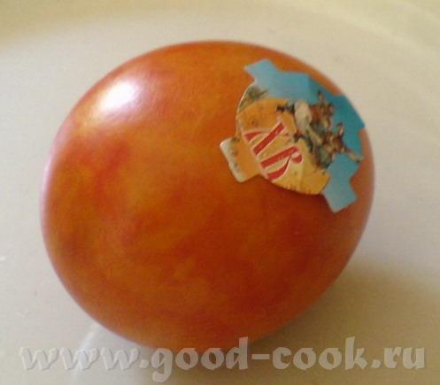 Вторая пасхальная традиция – крашеные яйца - 2