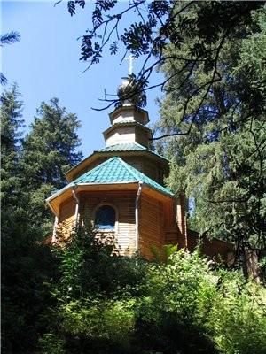А теперь немного окрестностей Алматы Большое Алматинское озеро: Аксайское ущелье, мужской монастырь... - 4