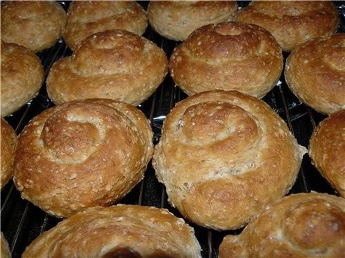 Мягкие и ароматные булочки - 2
