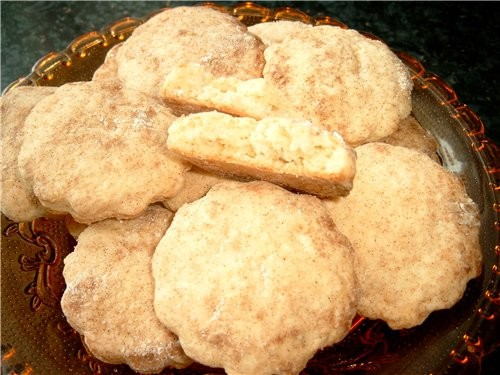 Печенья получаются до неприличия вкусные