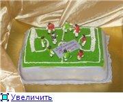торт ноутбук торт розовый слон торт футбольное поле - 6
