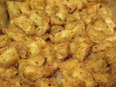Ой, а к хлебушку куриному Хрустящую картошечку от larissa1312