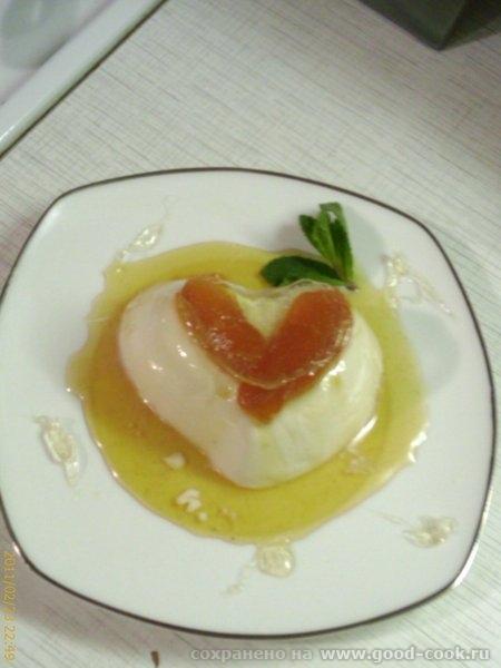 Салат из рукколы с шашлычками из креветок Базовая сливочная панакотта Вариант с персиковой карамель... - 3