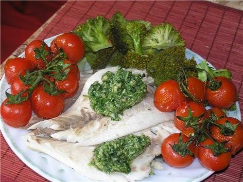 Рыба, запеченая в соляной шубе (пошаговое исполнение)
