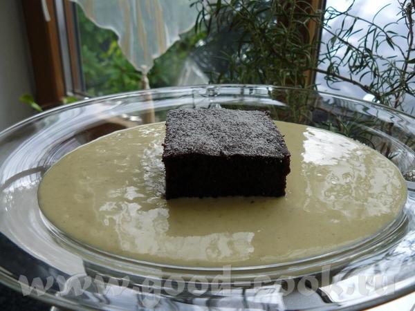Шоколадный торт с бананово-ванильным кремом Торт: 125 г горького шоколада,( 75%) 125 г масла 3 яйца...